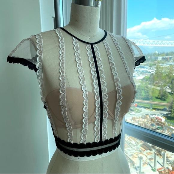 Victoria's Secret boudoir bra